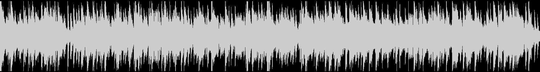 ライトで軽い音色のジャズ ※ループ仕様版の未再生の波形
