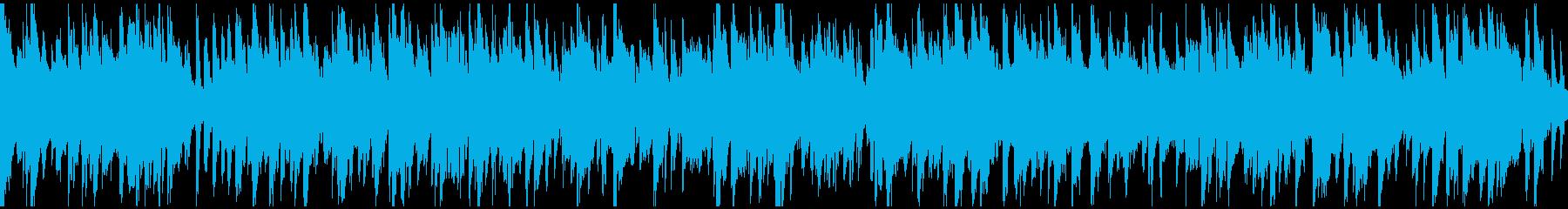 ライトで軽い音色のジャズ ※ループ仕様版の再生済みの波形