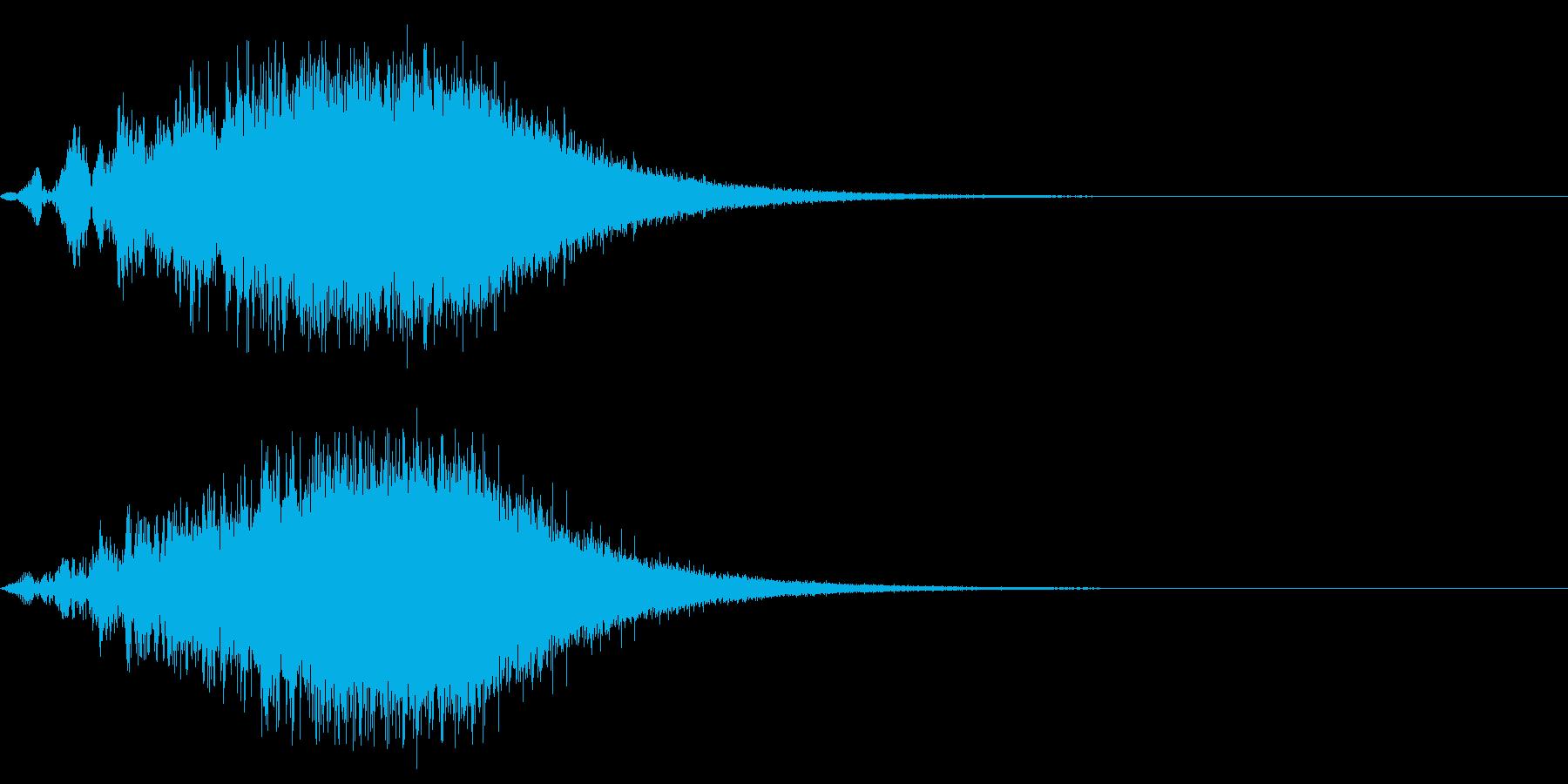 Dark_SweepUp-02Delayの再生済みの波形