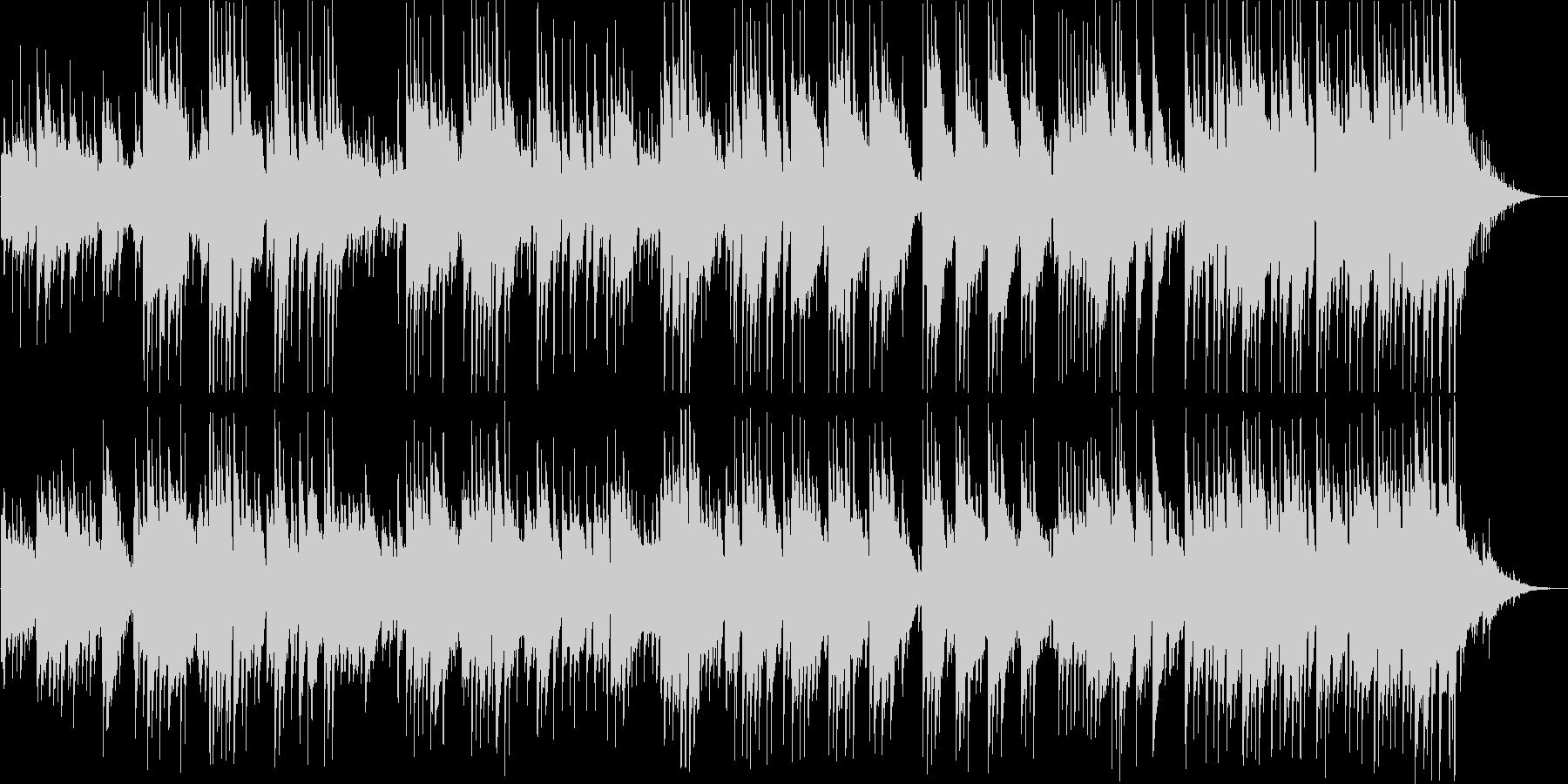 優しいギターサウンドの未再生の波形