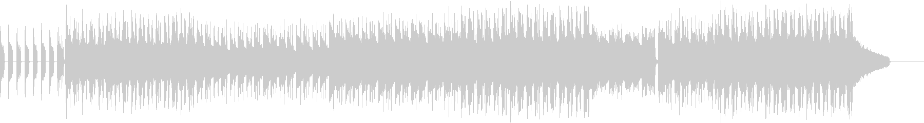 切ないチルアウト、エレクトロの未再生の波形