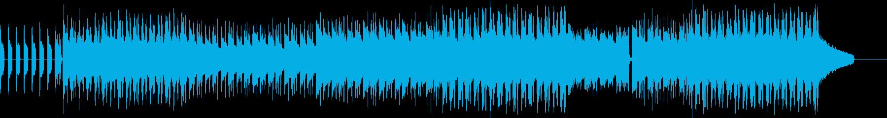 切ないチルアウト、エレクトロの再生済みの波形