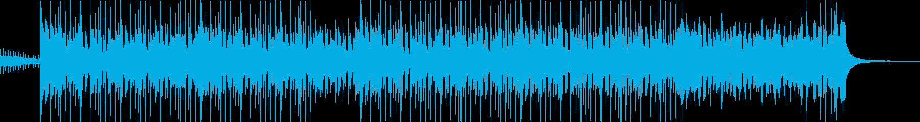 ファンキーで遊び心のある、エキサイ...の再生済みの波形