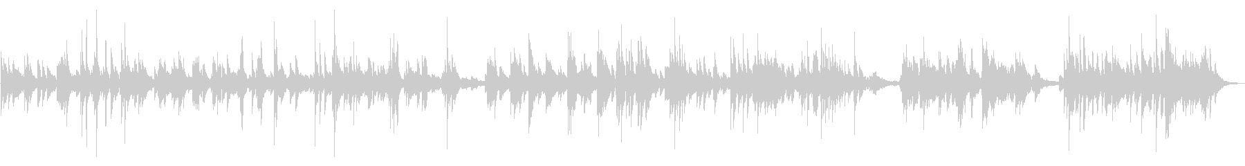 繊細なエレクトリックピアノでアコー...の未再生の波形