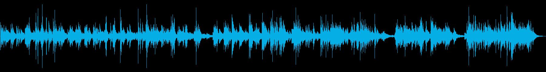 繊細なエレクトリックピアノでアコー...の再生済みの波形