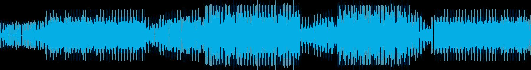 テクノ、最小限の再生済みの波形