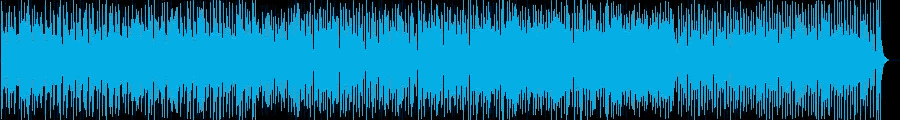 クラシックをアレンジしたチャチャチャの再生済みの波形