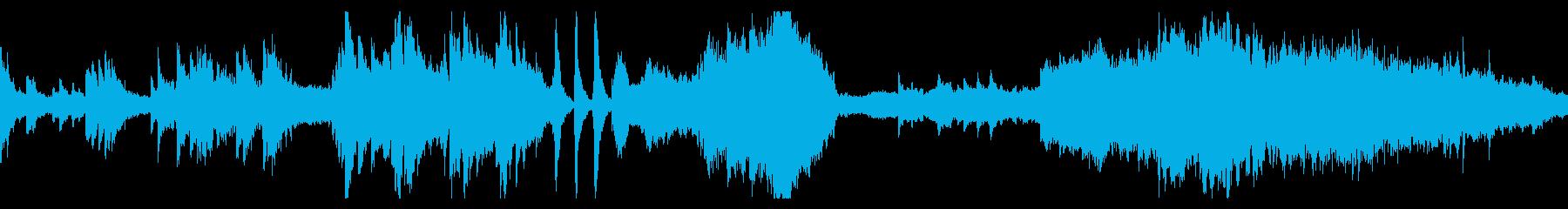 妖精の暮らす村をイメージしたゲーム音楽の再生済みの波形