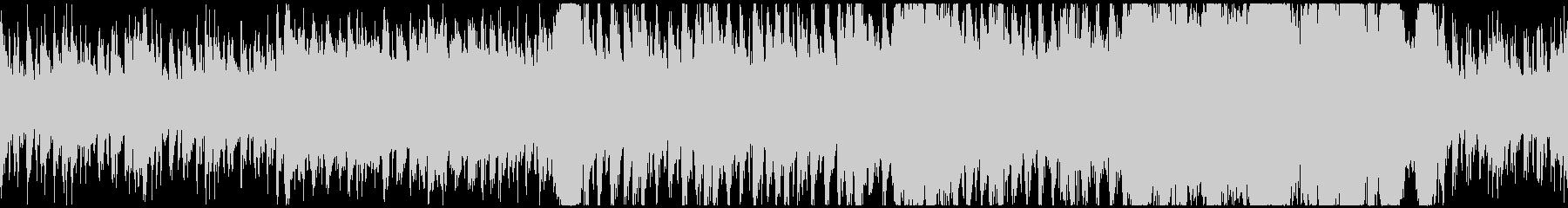 疾走感のある厳格フルオーケストラバトル曲の未再生の波形