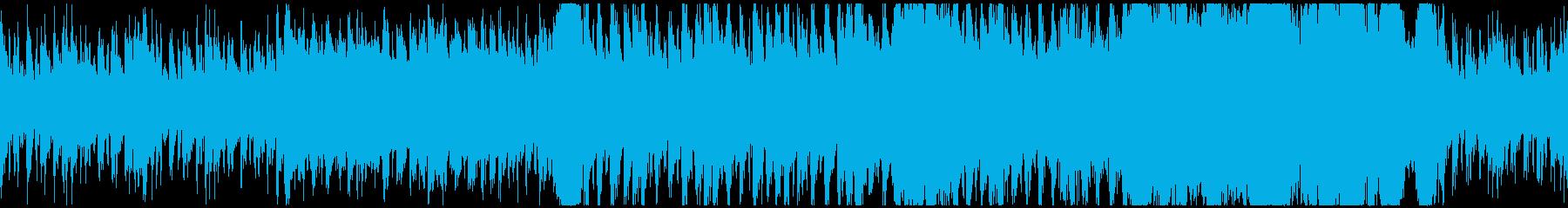 疾走感のある厳格フルオーケストラバトル曲の再生済みの波形