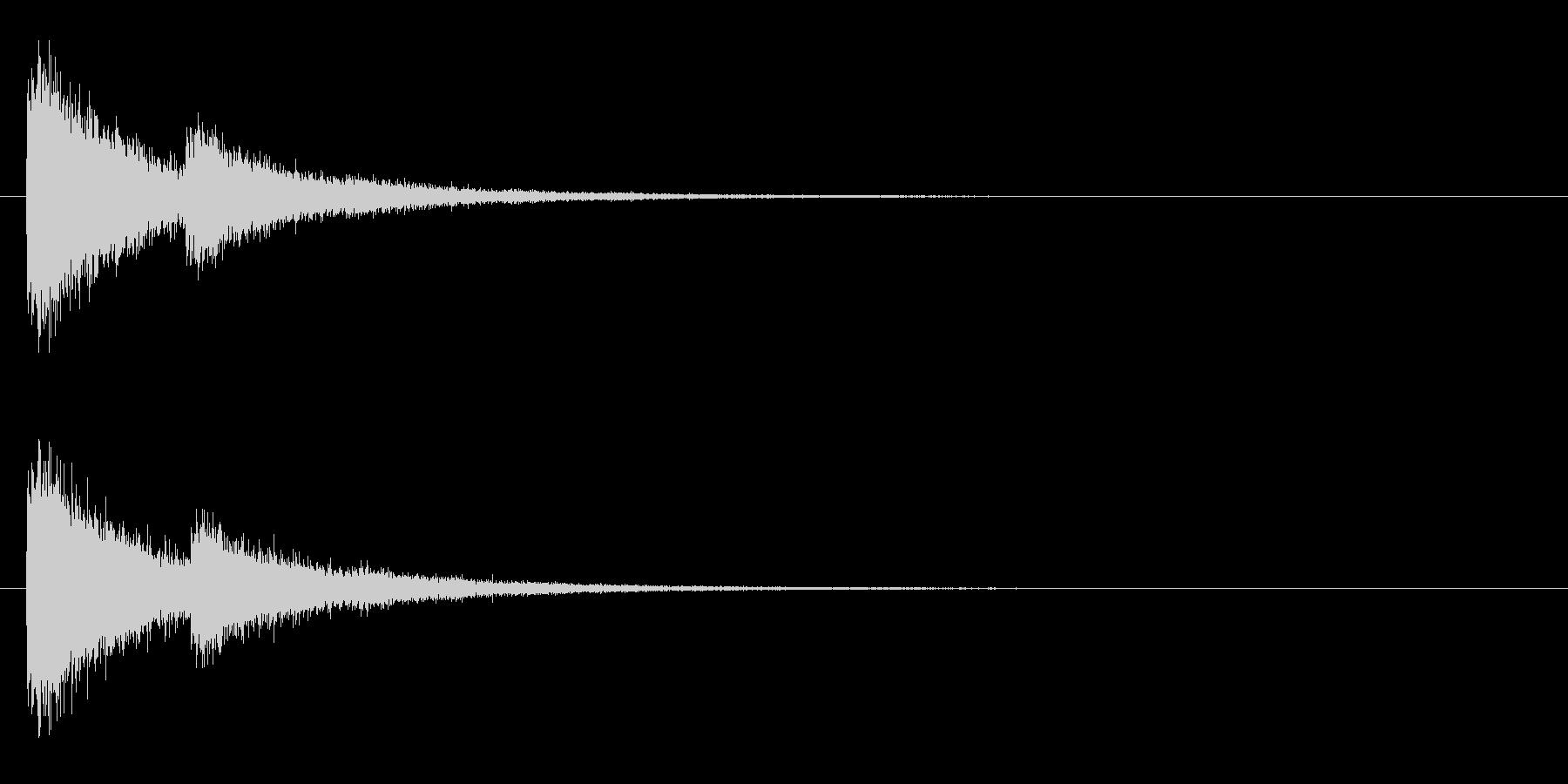 レーザー音-10-2の未再生の波形