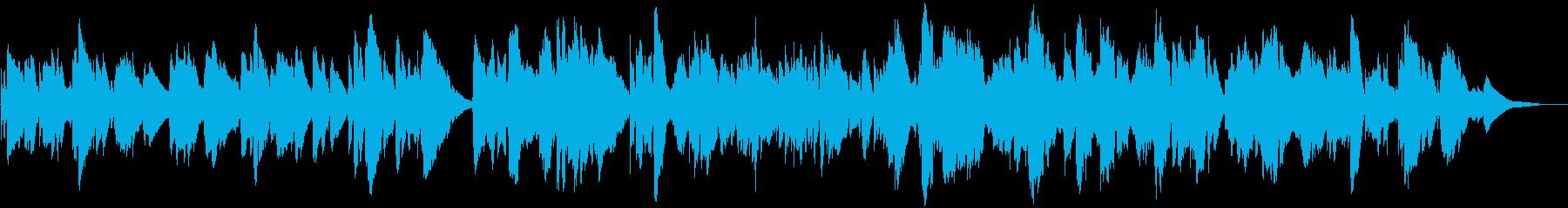 星空・アコースティックなケルト※ベース無の再生済みの波形