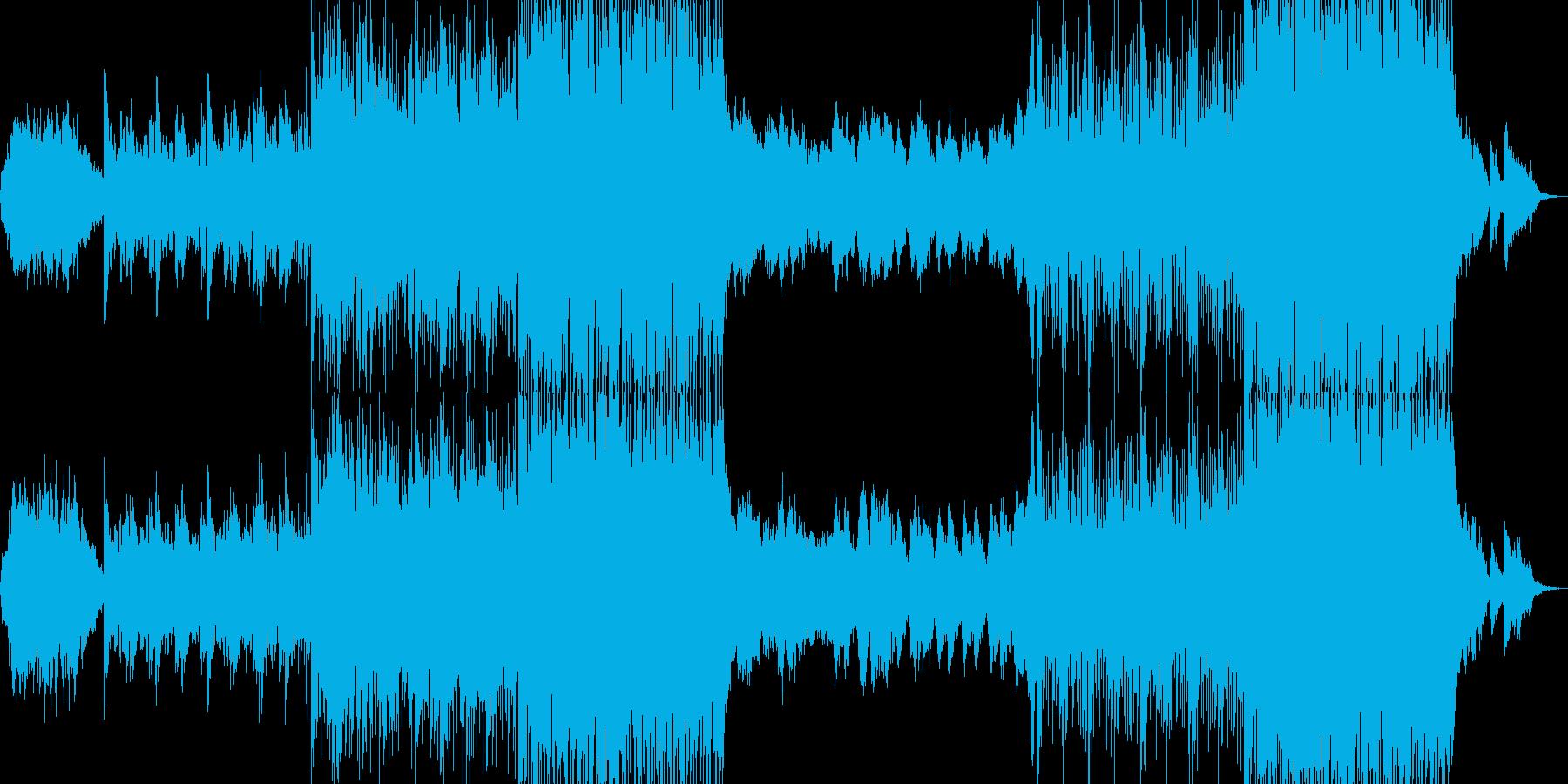 幻想的音楽ーRaindropの再生済みの波形