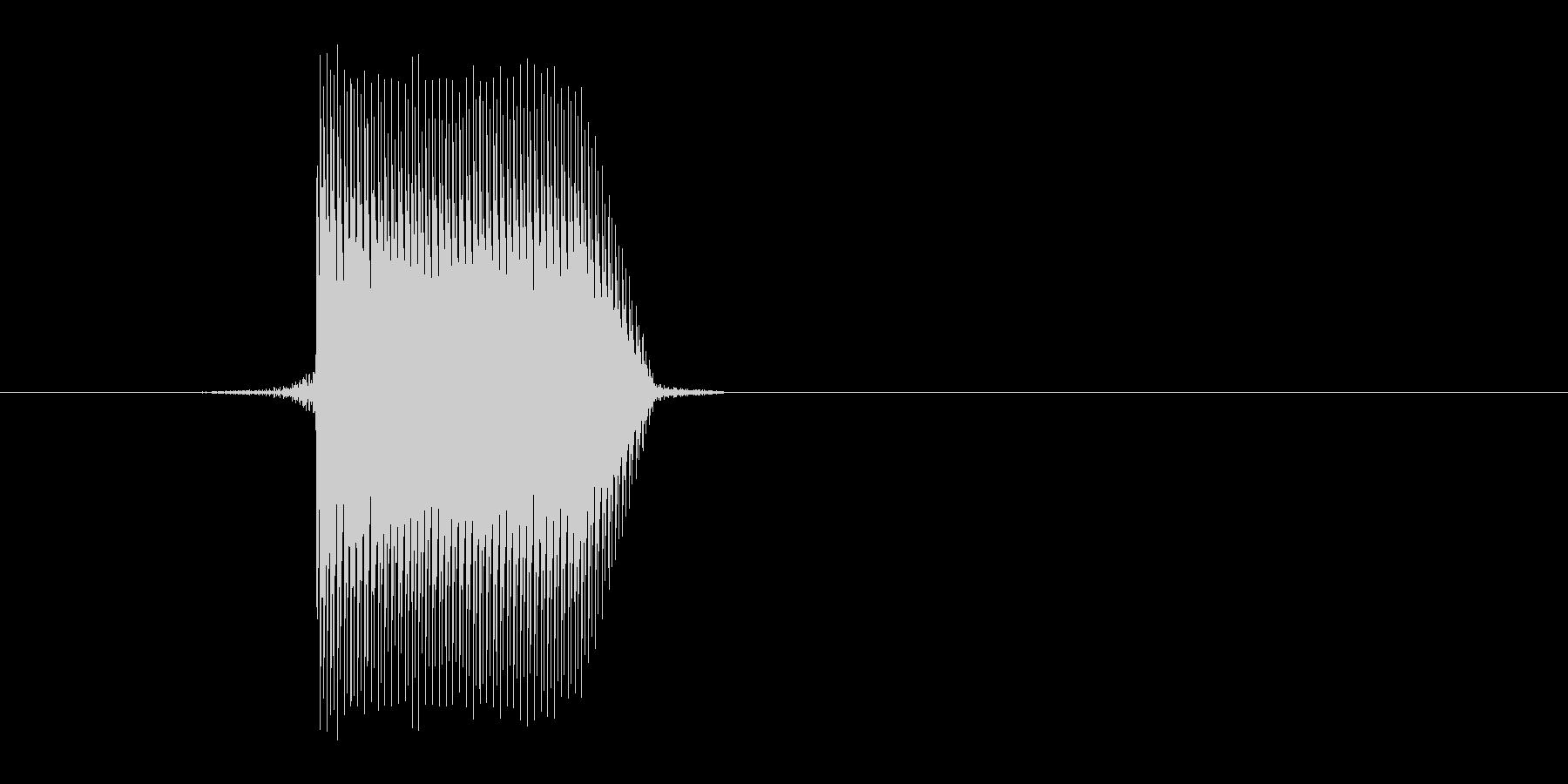 ゲーム(ファミコン風)セレクト音_019の未再生の波形