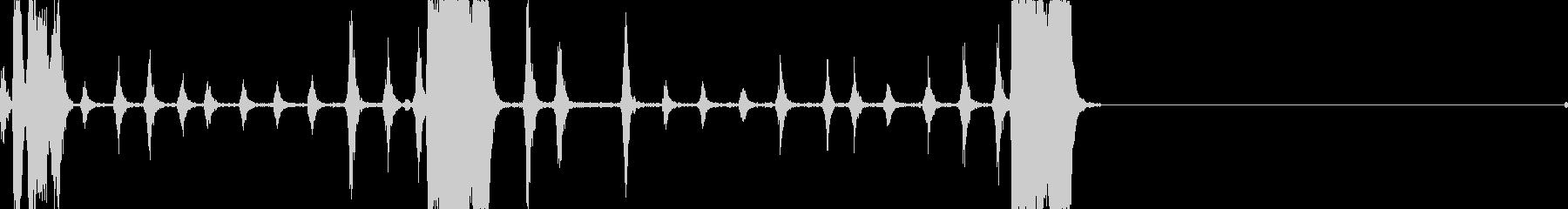 ヘン、カチカチ; DIGIFFEC...の未再生の波形