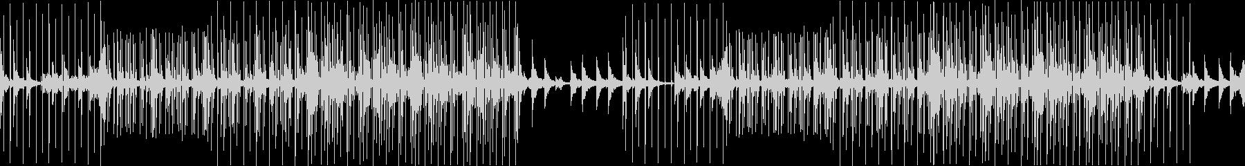 実験的な電子機器で怠惰な曲の未再生の波形