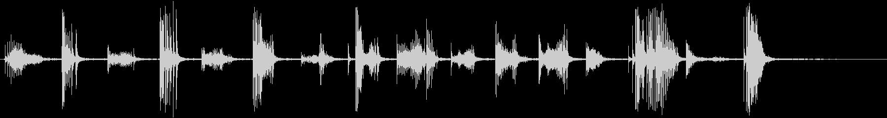 アコースティックギター:クイックラ...の未再生の波形