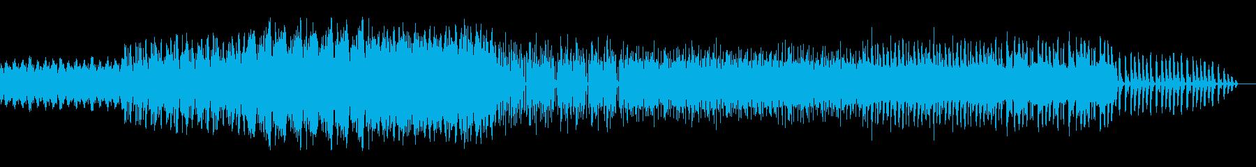ダークでハードなダブステップの再生済みの波形