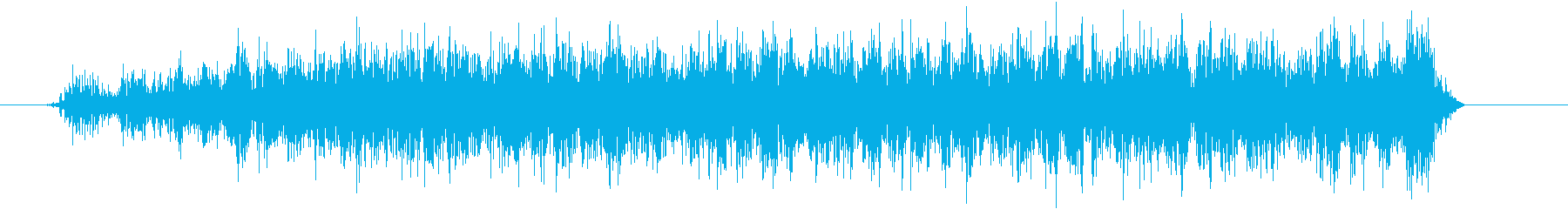 ウィーーン(モーター)の再生済みの波形