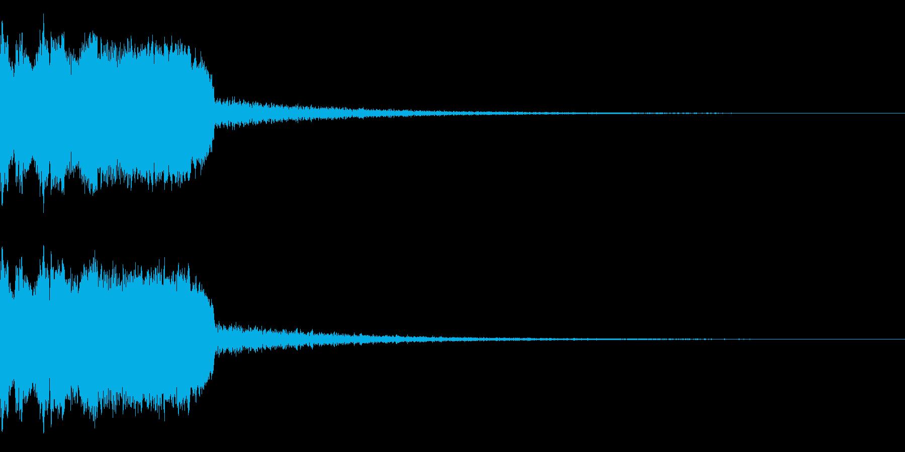 DJFX ヒットチャート発表前SE 9の再生済みの波形