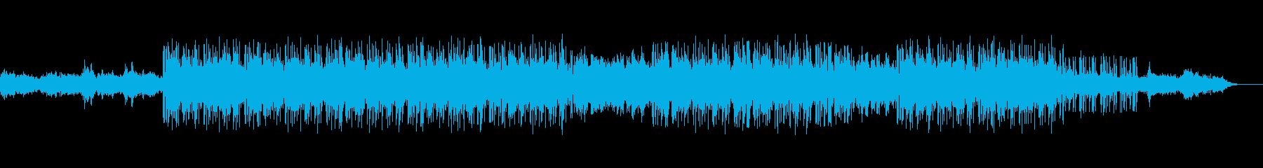 都会的なサウンド、東京、夜、高速道路の再生済みの波形