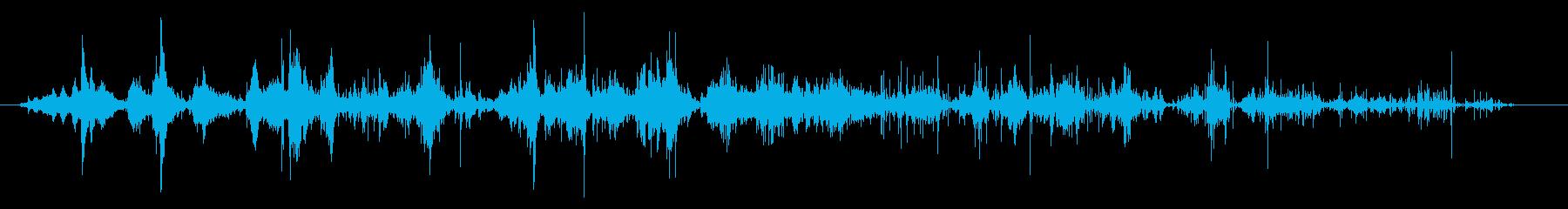 アルミホイルの一部:ロングムーブメ...の再生済みの波形