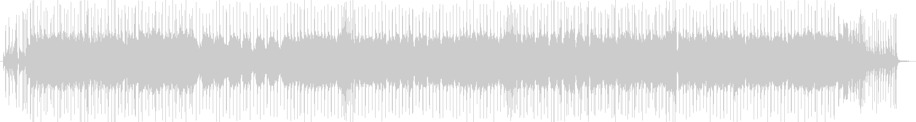 ブルースロック・ギターインストの未再生の波形