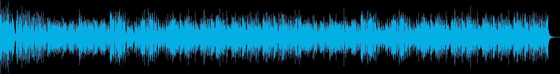 コミカルな追いかけっこのBGMの再生済みの波形