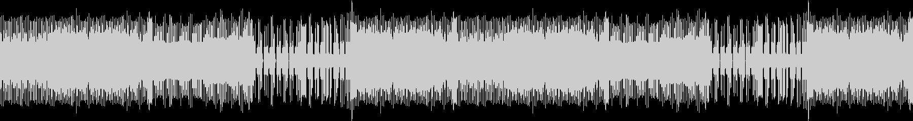 EDMでファミコン風なゲームBGMの未再生の波形