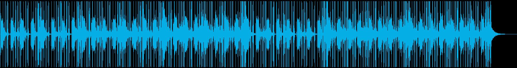 近未来・神秘的 ヒップホップの再生済みの波形
