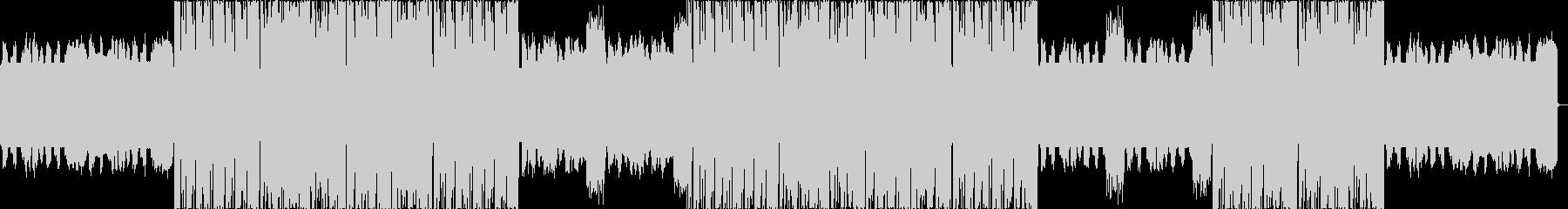 派手シンセのHIPHOP×DUBSTEPの未再生の波形