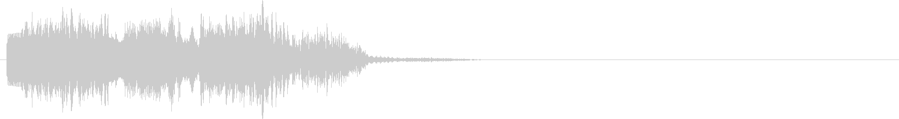 パラララララ…(ステータスアップ・上昇)の未再生の波形