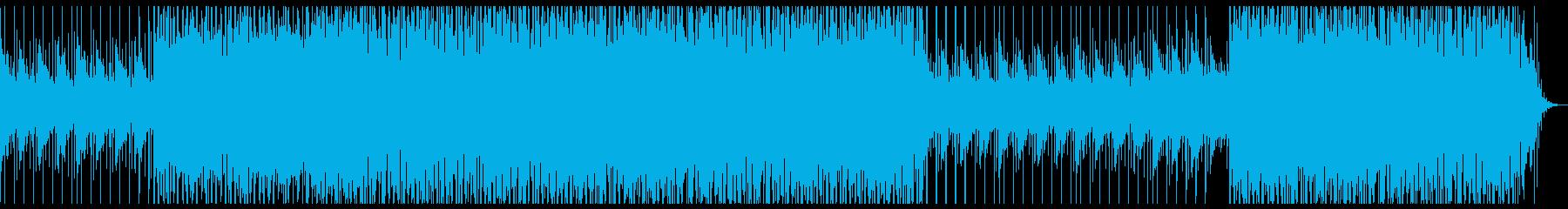 ポップで明かるいトロピカルハウス の再生済みの波形