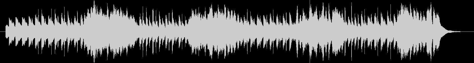 リコーダーと鍵盤ハーモニカの追い掛けっこの未再生の波形