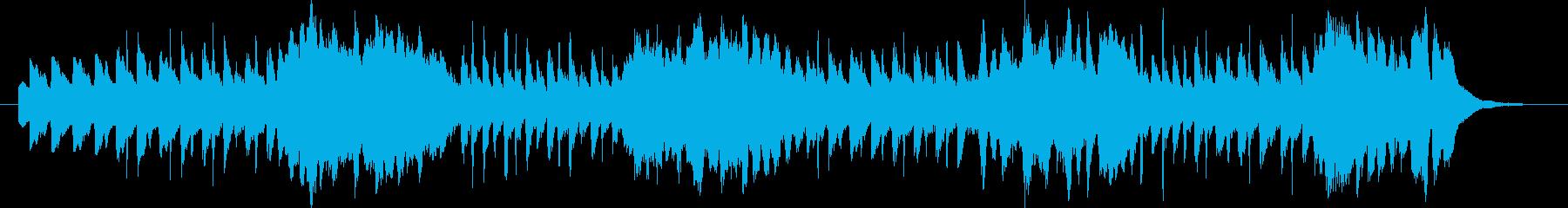 リコーダーと鍵盤ハーモニカの追い掛けっこの再生済みの波形