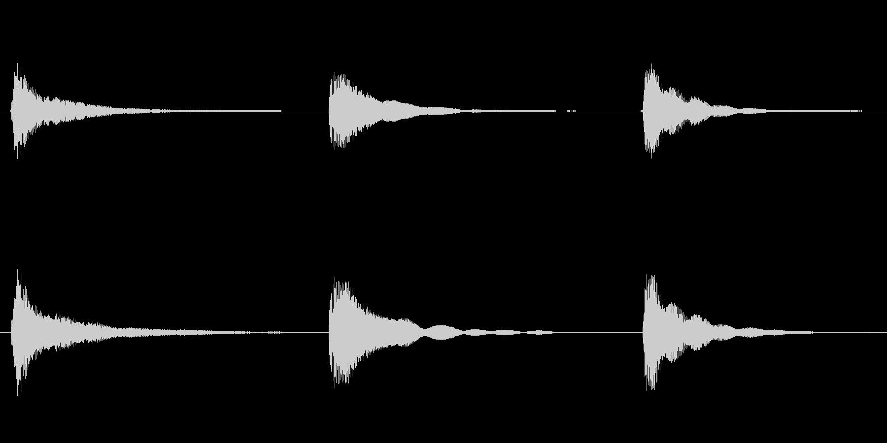 素材 ウエスタンギターコードフルマ...の未再生の波形