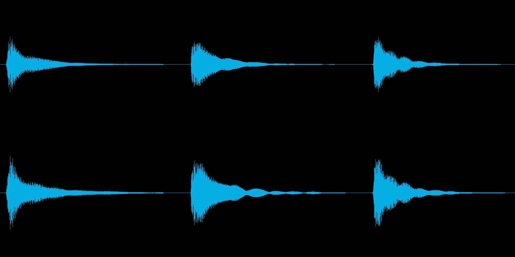 素材 ウエスタンギターコードフルマ...の再生済みの波形