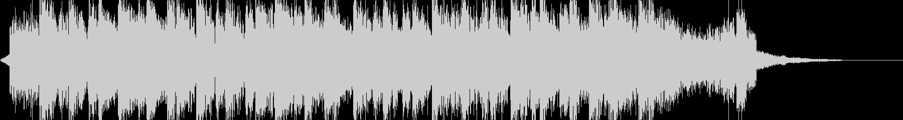 コミカルなドラムンベースの未再生の波形