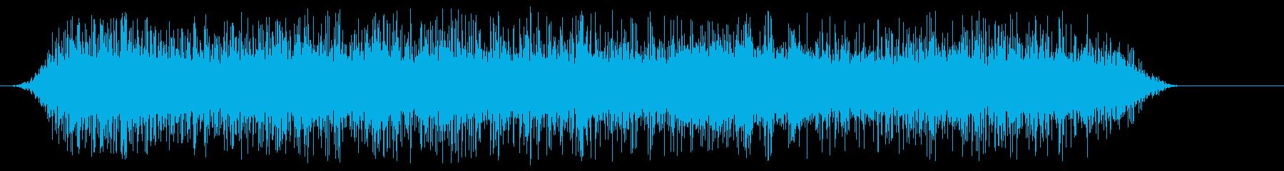 公園の噴水-鳥-声の再生済みの波形
