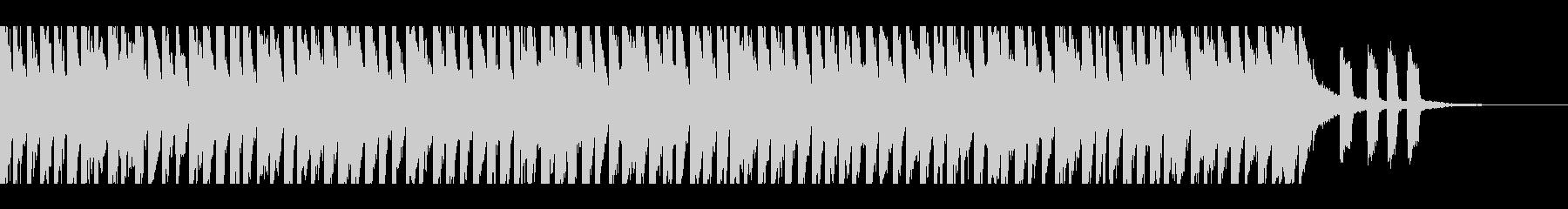 ハッピーポップ(30秒)の未再生の波形