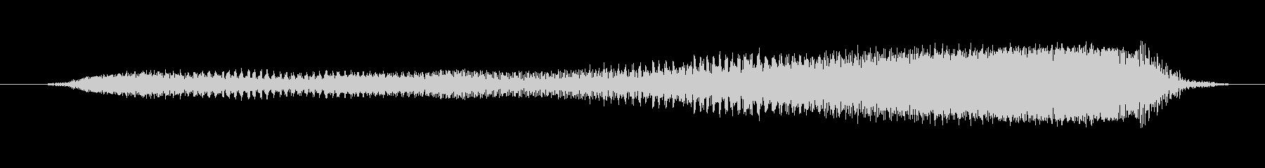 鳴き声 男性スクリーム強制ロング06の未再生の波形