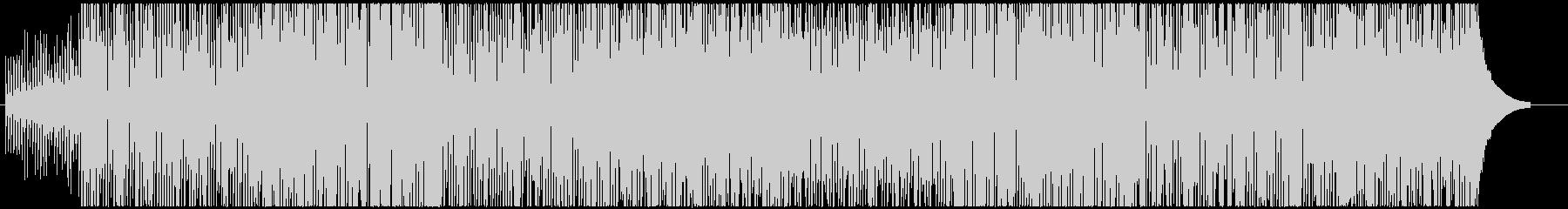 アコギの刻みが気持ち良い曲の未再生の波形