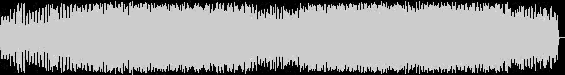 おしゃれなシンセポップハウス系の未再生の波形