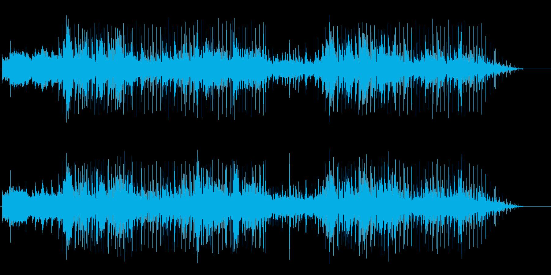 車の効果音はソフトウェア音源、XTRE…の再生済みの波形