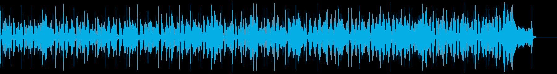陽気なレゲエの再生済みの波形