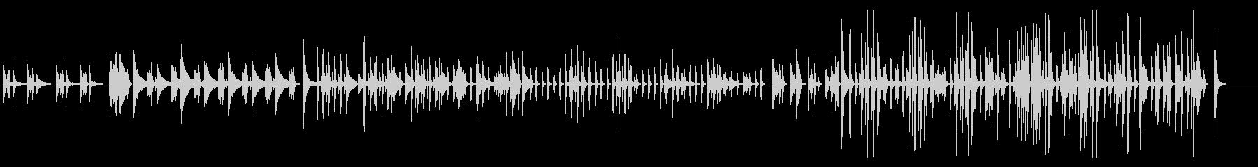 バーで聴く渋くて気だるいジャズピアノソロの未再生の波形