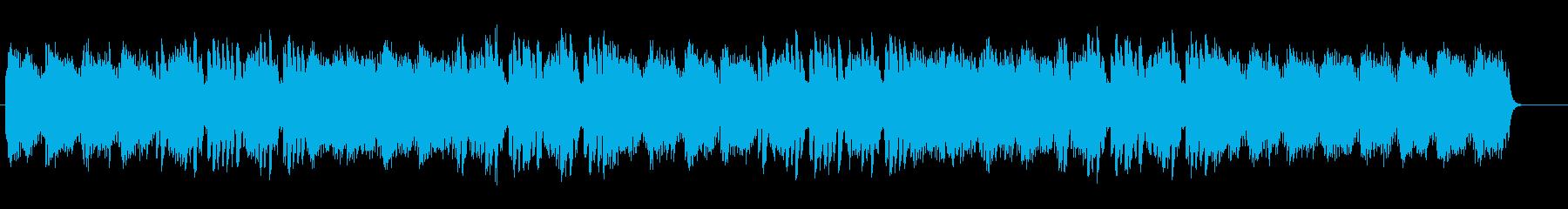 キラキラと煌びやかなテクノポップサウンドの再生済みの波形