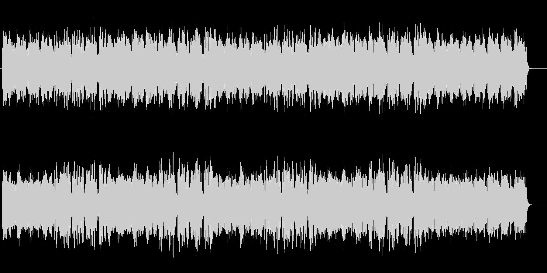 キラキラと煌びやかなテクノポップサウンドの未再生の波形