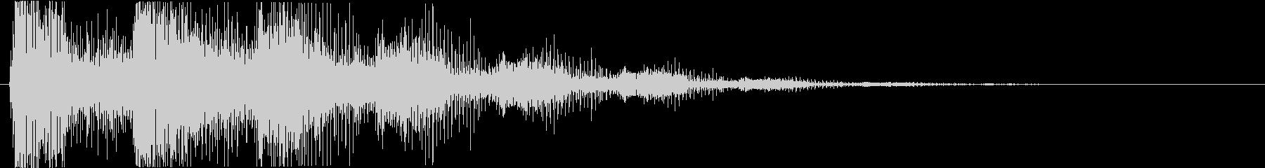 プッ:ラッパの音・失敗・バカにするの未再生の波形