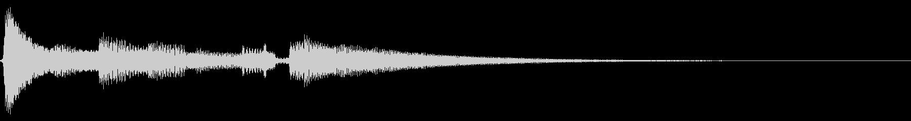 ★アコギ生音のジングル/おしゃれ の未再生の波形